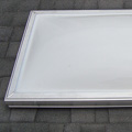 domed acrylic curb mount skylight unit