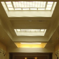 custom leaded glass effect skylight units