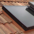 custom vented glass curb mount skylight