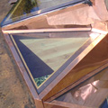 Triangle skylights are popular now.