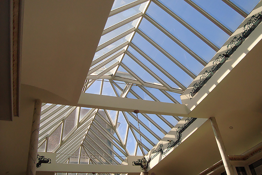 hip ridgelight roof for mall